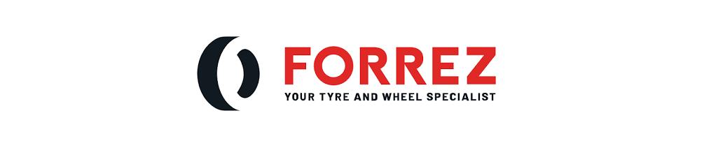 Forrez logo vandammechanisatie BV banden wielen en meer