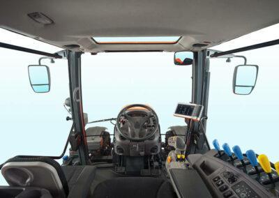 Kubota M6002 cabine achterkant rear vieuw