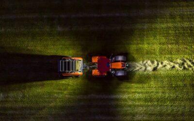 Kubota en TIM (Tractor management system)