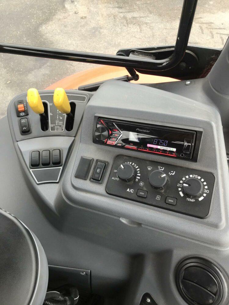 Kubota M7173 KVT Demo te Koop te huur trekker Van Dam Mechanisatie BV