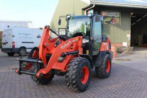 kubota shovel te koop r085 van dam mechanisatie 6 ton